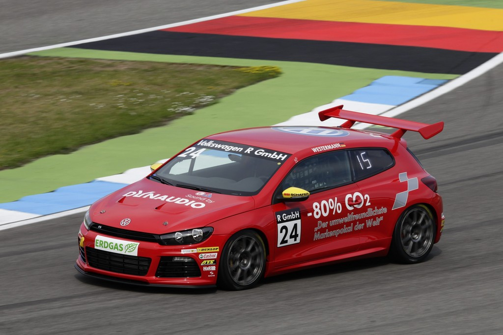 Gastfahrer im Scirocco-R-Cup.
