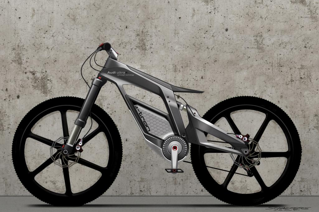 Gebaut wird das E-Bike in dieser Form wohl nicht