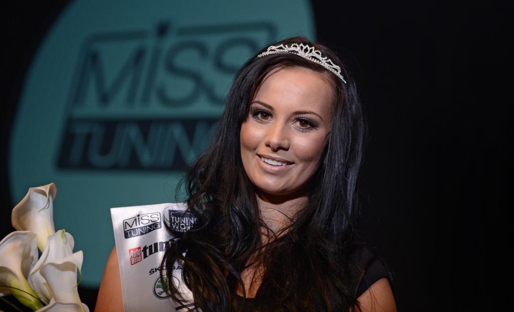 Gewinnerin der Miss Tuning Wahl 2012: Frizzi Arnold ausChemnitz