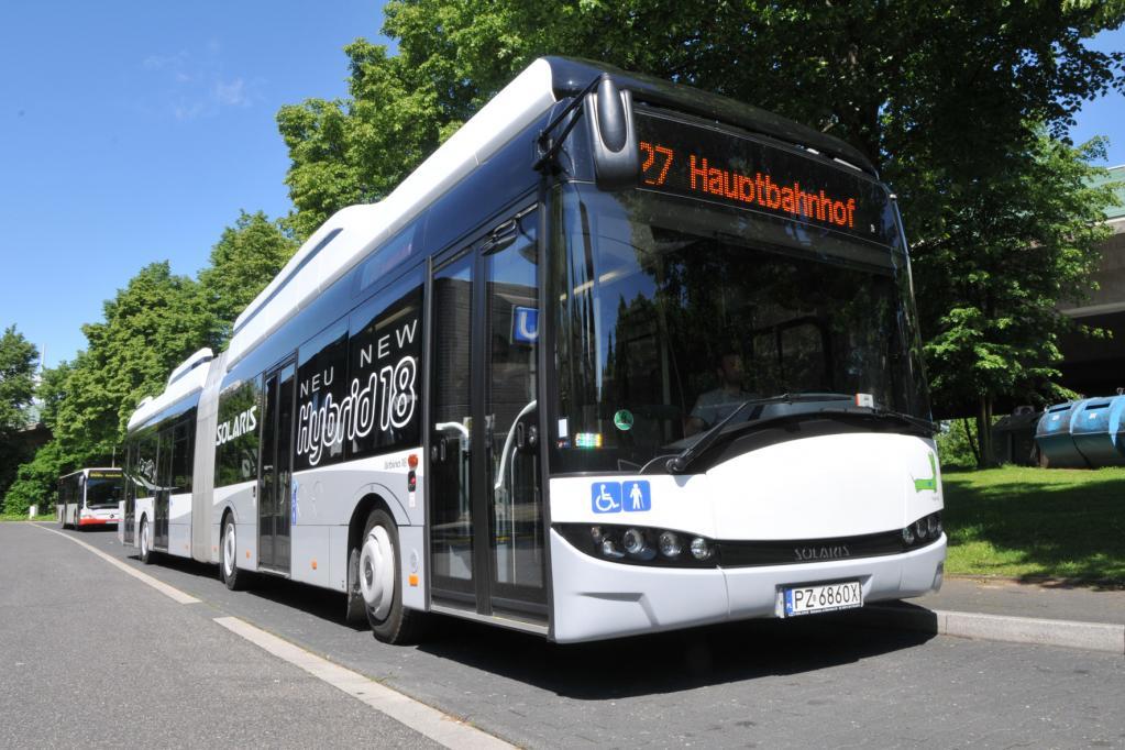 Hybrid-Omnibusse im Trend: Top-aktuelle Technik aus Polen