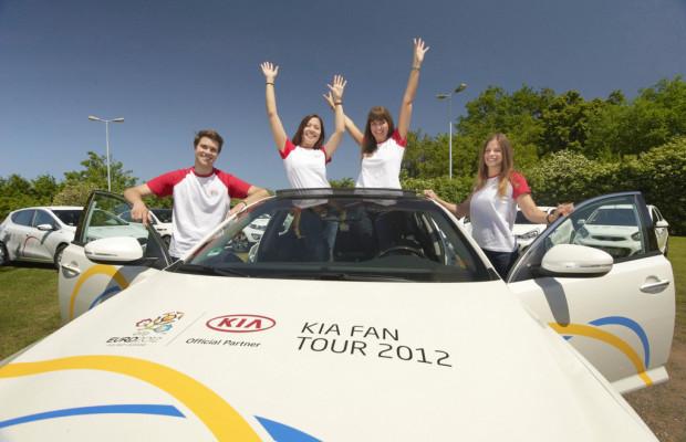 Kia startet Fan-Tour zur Europameisterschaft