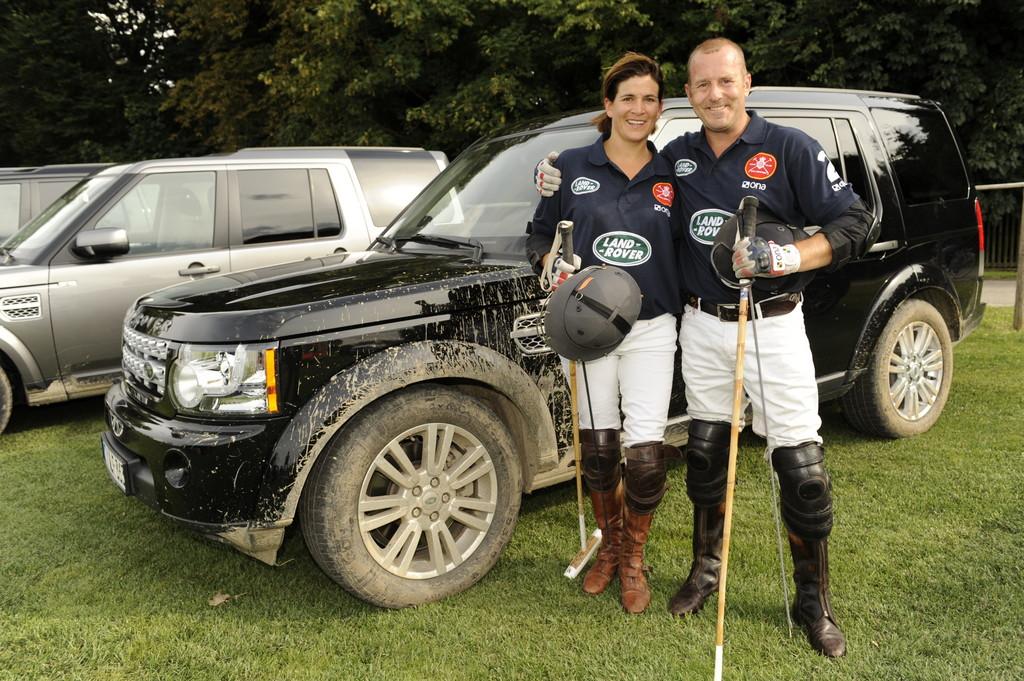 Land Rover schickt Polo-Team mit Heino Ferch auf Tour