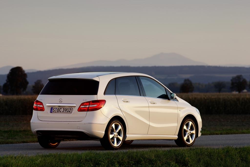 Mercedes B-Klasse: deutlich gereift