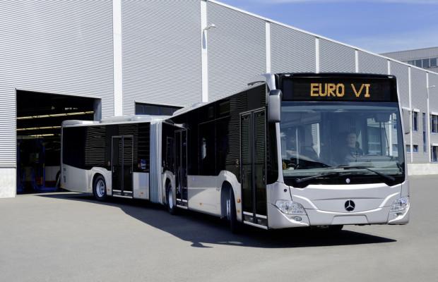 Mercedes-Benz beginnt Produktion des Citaro Euro VI