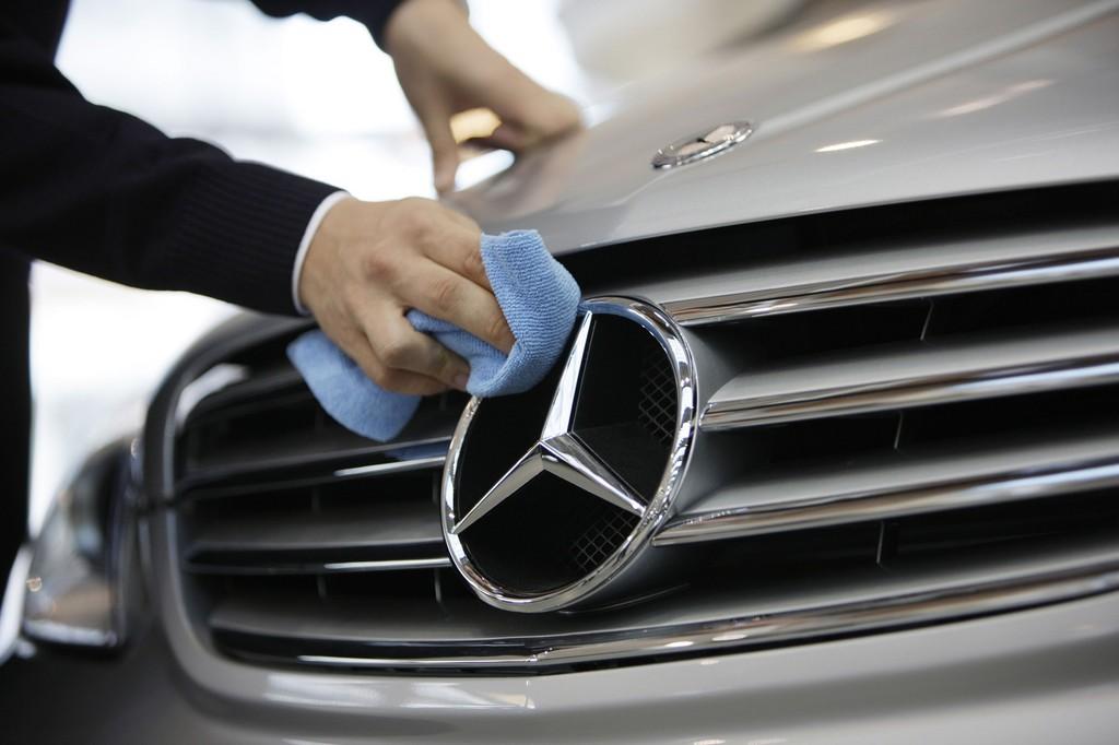 Mercedes-Benz startet mit Absatzplus ins zweite Quartal