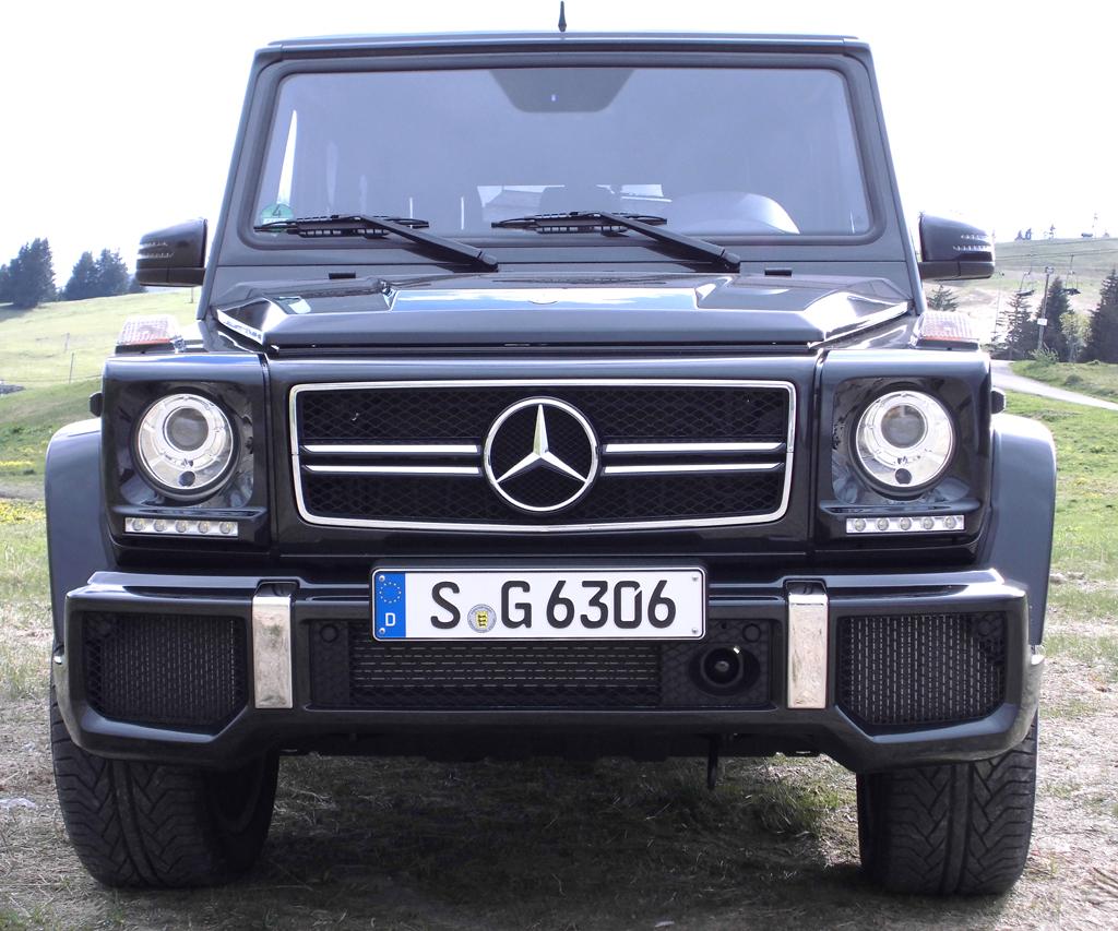 Mercedes G-Klasse: Blick auf die Frontpartie der aktualisierten Auflage.