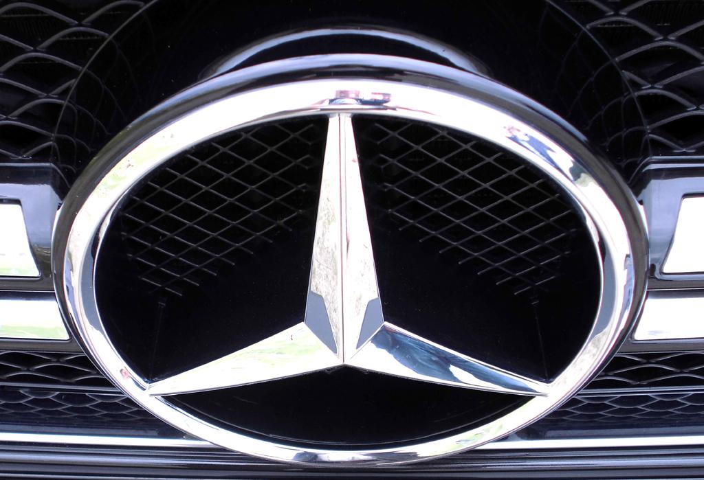 Mercedes G-Klasse: Der Markenstern prangt vorn groß im Kühlergrill.