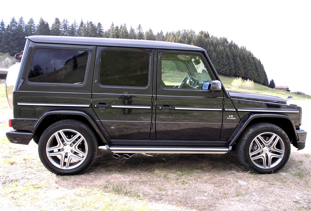 Mercedes G-Klasse: So sieht die Geländewagen-Ikone aktuell von der Seite aus.