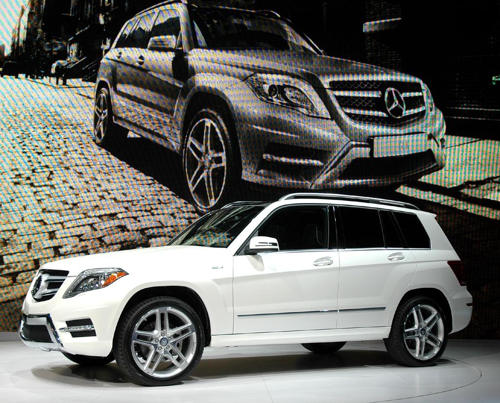 Mercedes GLK: ... und so in der neuen Version, die Ende Juni an den Start geht.