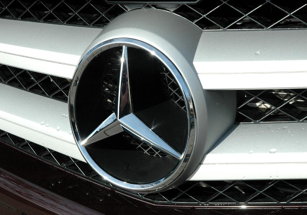 Mercedes GLK: Der Markenstern prangt vorn groß im Kühlergrill.