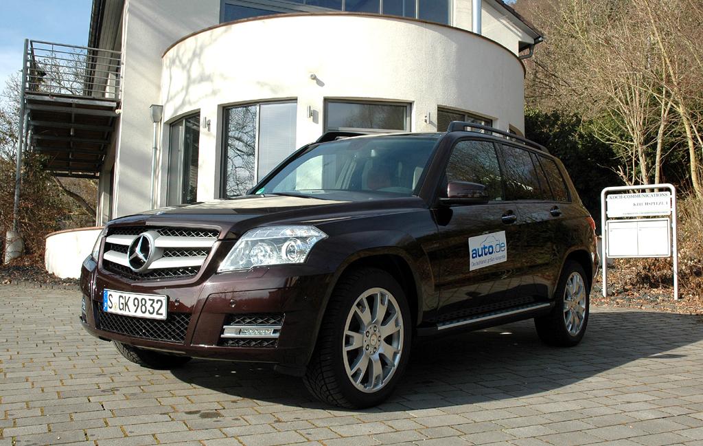 Mercedes GLK, hier noch in der Vorgängerversion als 350er-Allraddiesel.