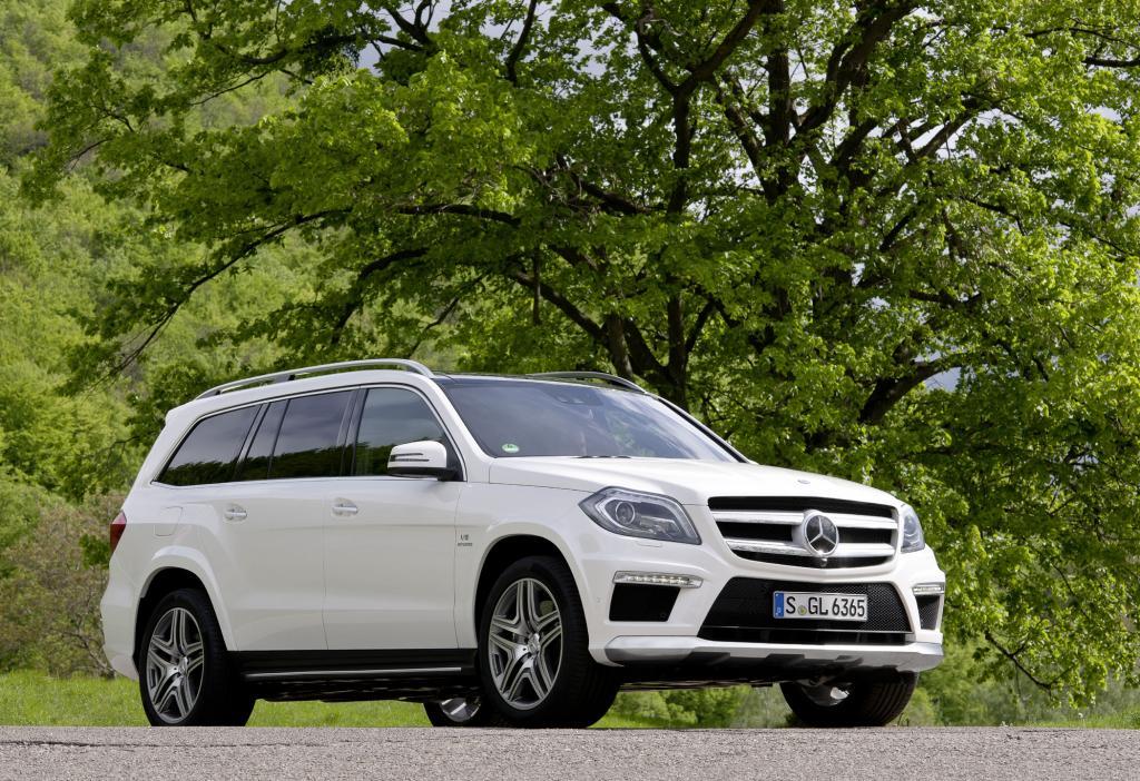 Mercedes bringt mit dem GL 63 AMG ein besonders großes und vor allem starkes SUV auf den Markt