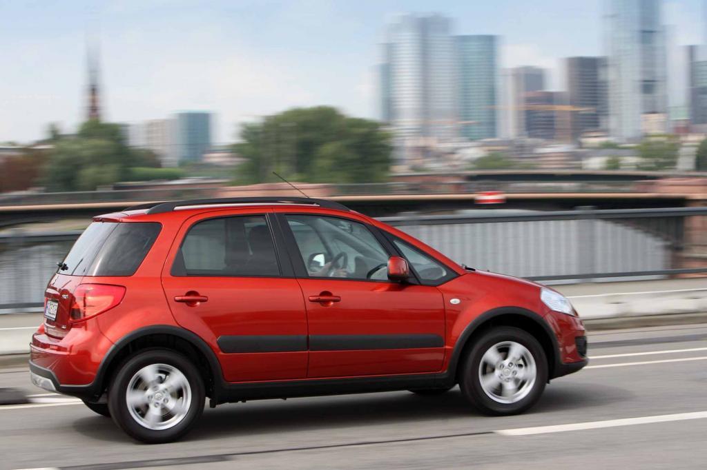 Mit knapp über vier Metern ist der SX4 ein großer Kleinwagen oder ein kleiner Kompakter