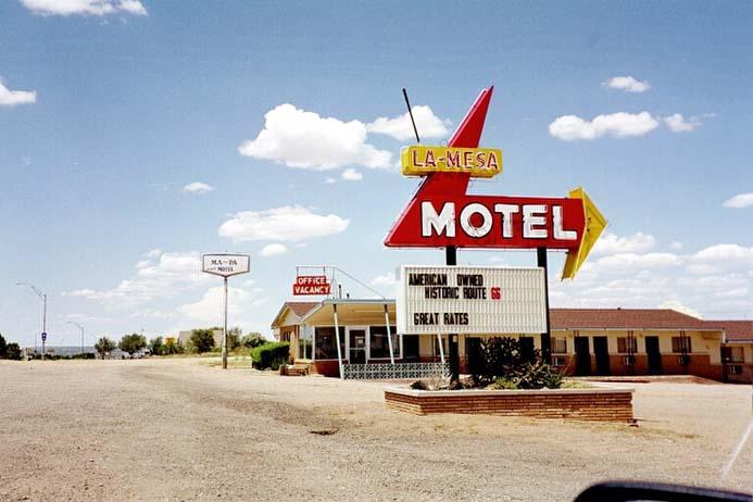 Motel an der Route 66 - Bild: Wikipedia