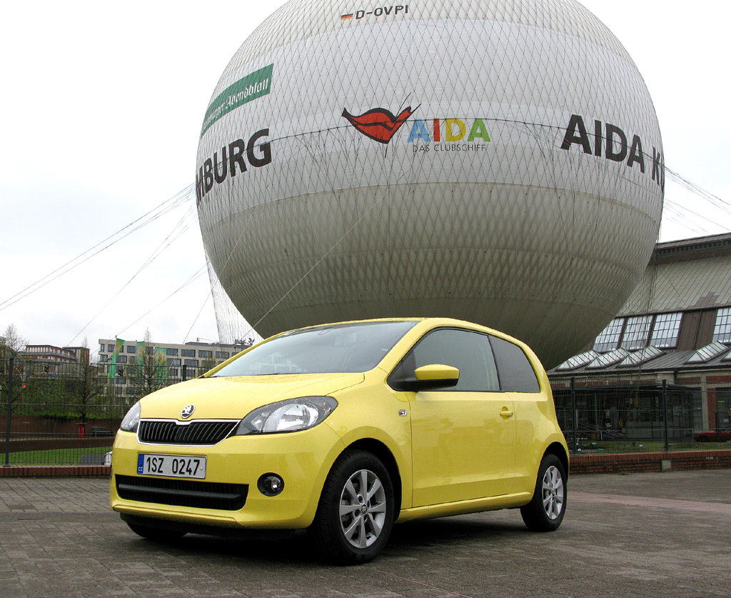 Nach VW Up und Seat Mii der Dritte im Bunde: Skoda Citigo.