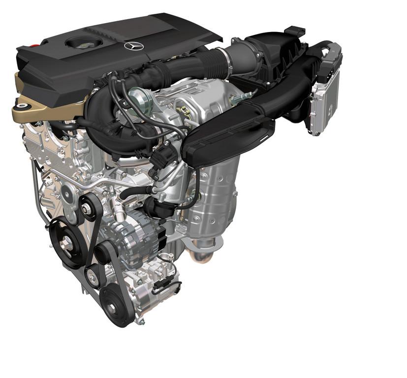 Neue Motoren für die A-Klasse: Sparsamer und stärker