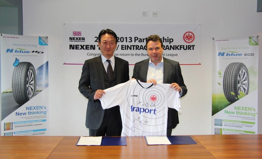 Nexen wird Partner von Eintracht Frankfurt
