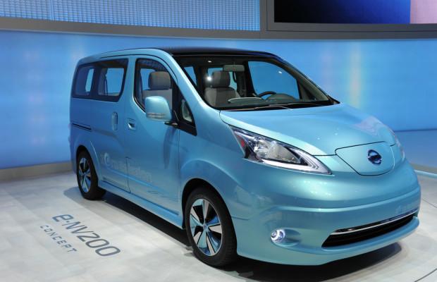 Nissan baut e-NV200 in Europa