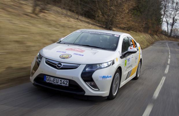Opel Ampera als Mietwagen bei Europcar