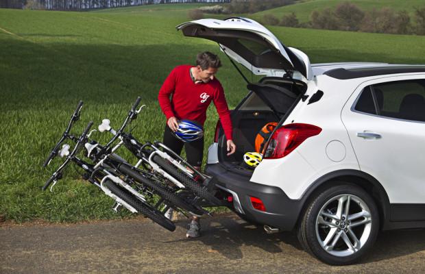 Opel bietet Flex-Fix-Fahrradtträger für den Mokka