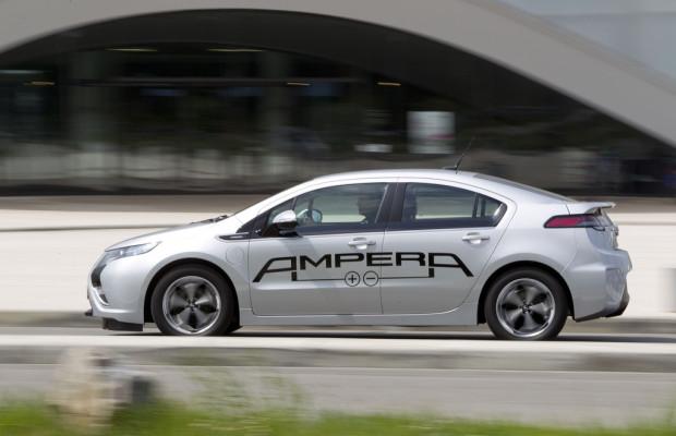Opel präsentiert größte Elektroauto-Flotte auf einer Messe