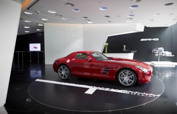 Panorama: AMG Performance Center in Peking - Der Chinese rückt nach links