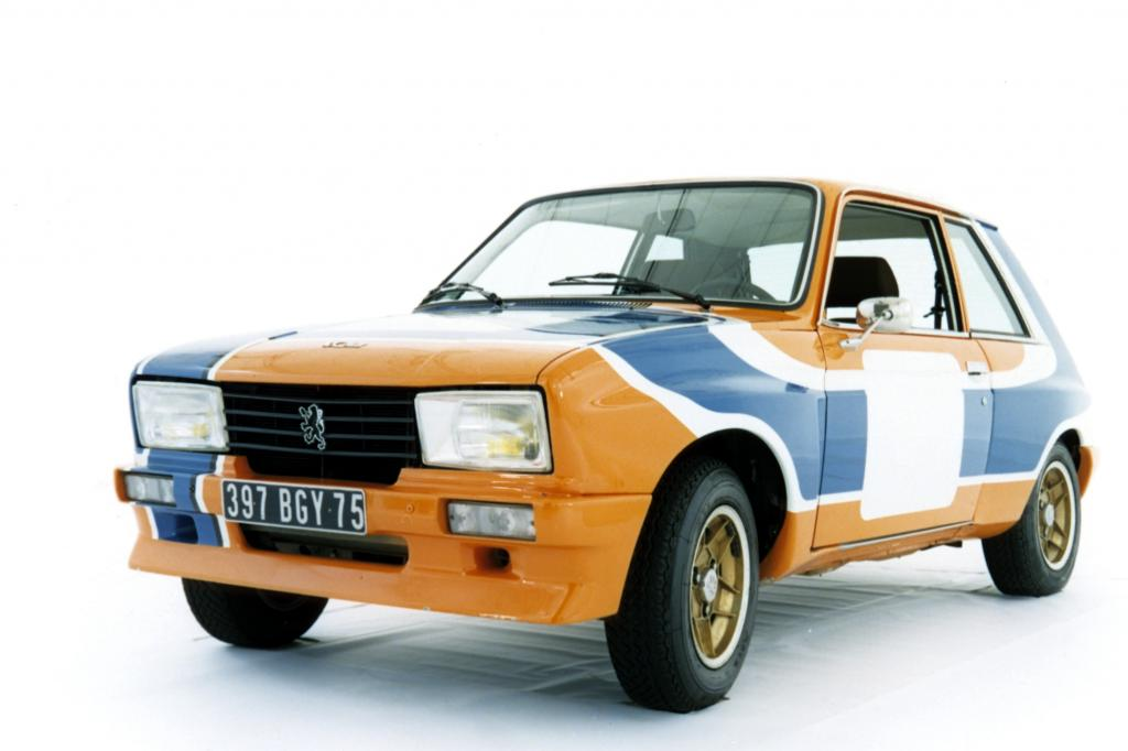 Peugeot 104 ZS Rallye 1977
