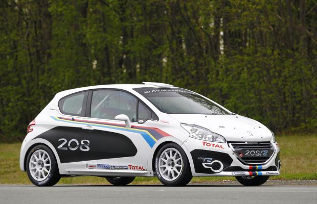Peugeot präsentiert Rallye-Version des 208