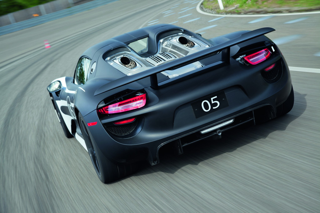 Porsche erprobt den 918 Spyder
