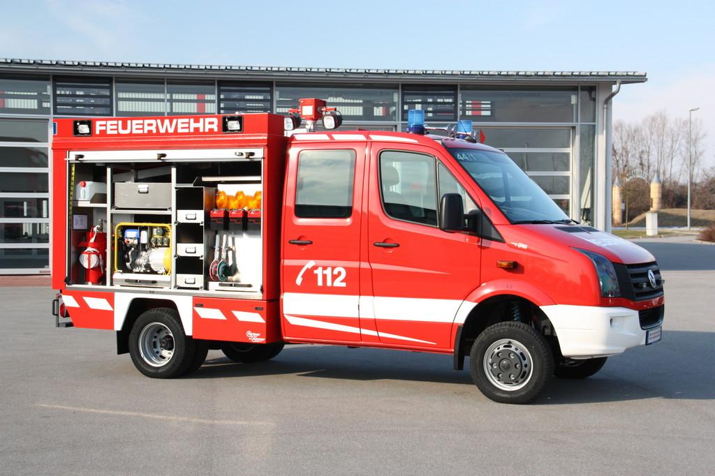 RETTmobil 2012: Volkswagen präsentiert seine Rettungsfahrzeuge