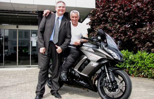 Ralph Herforth fährt Kawasaki Z 1000 SX