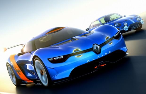 Renault präsentiert Alpine-Studie A110-50