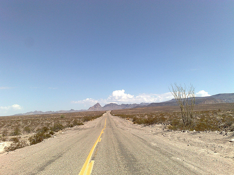 Route 66, Wüste - Bild: Wikipedia