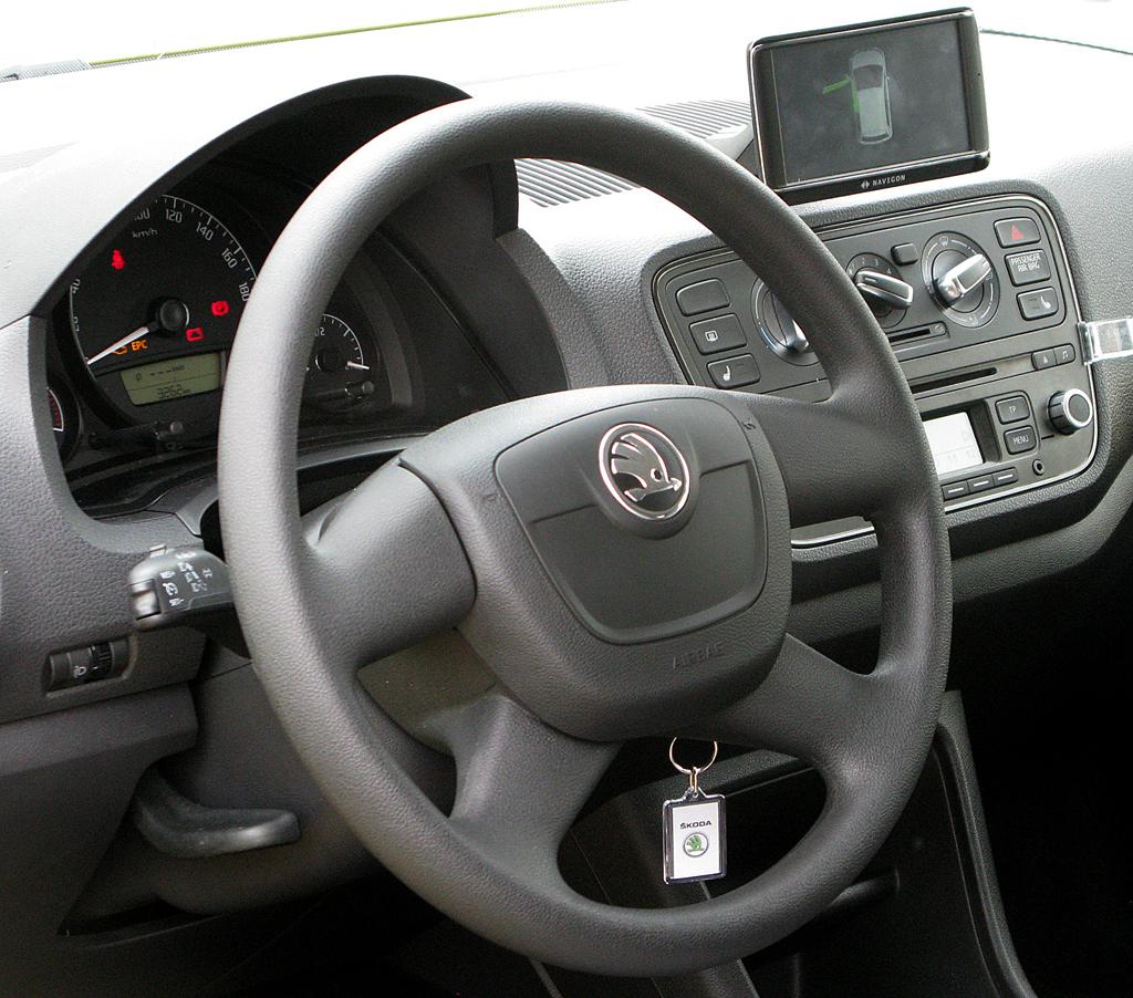 Skoda Citigo: Blick ins Cockpit.