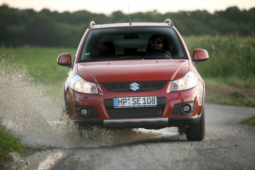 Suzuki kombinierte schon früh ein kleines Auto mit SUV-Elementen
