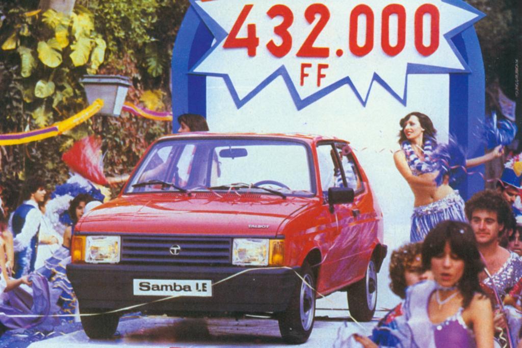 Talbot Samba 1982