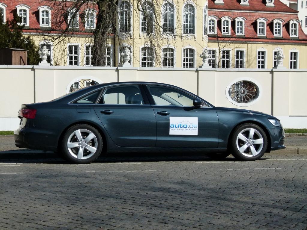 Test Audi A6 - Sparsames Leichtgewicht