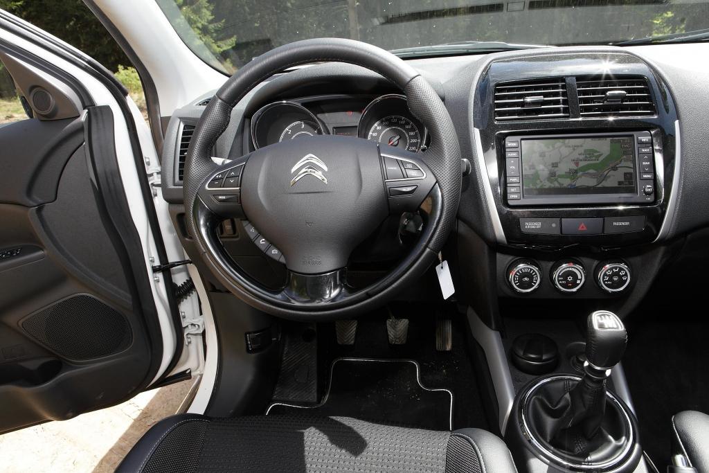 Test Citroen C4 Aircross: Komfortables Ambiente für leichtes Gelände