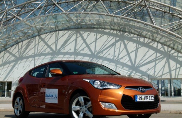 Test Hyundai Veloster 1.6 Style: Coupé mit Notausgang