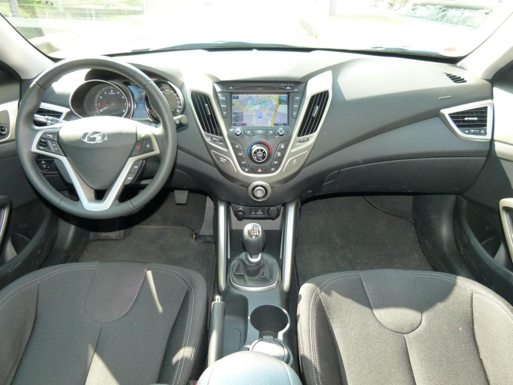 Test Hyundai Veloster 1.6 Style: Coupé mit Notausgang