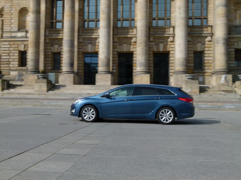 Test Hyundai i40 CW – Auf Augenhöhe