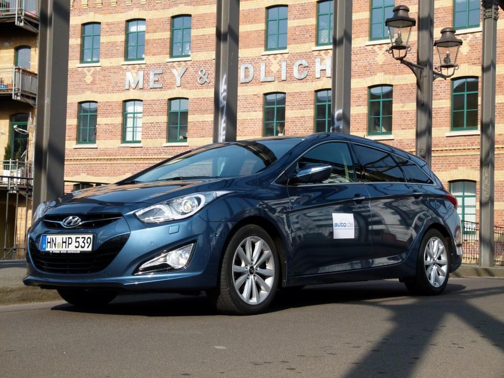 Test Hyundai i40 CW - Der bessere Passat