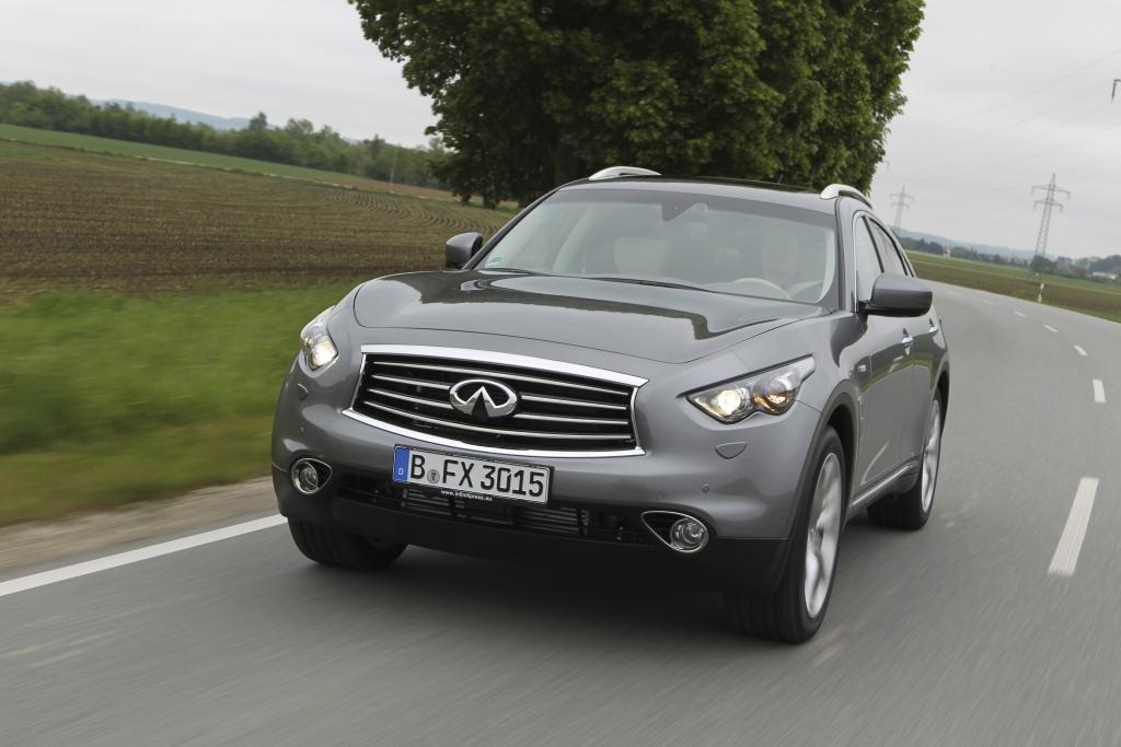 Test Infiniti FX: Premium-SUV liefert 420 PS und V8-Sound vom Feinsten