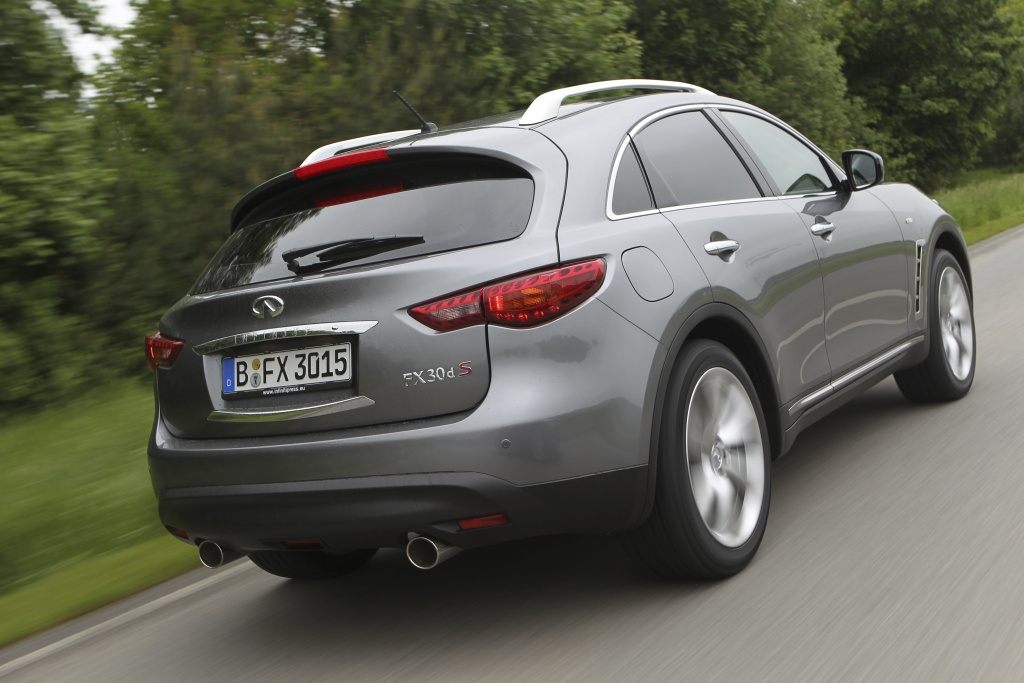 Test Infiniti FX: Premium-SUV mit 420 PS und V8-Sound vom Feinsten