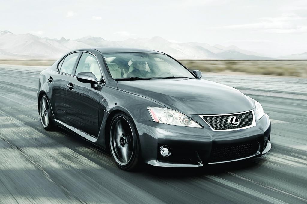 Test: Lexus IS-F - Die dunkle Seite