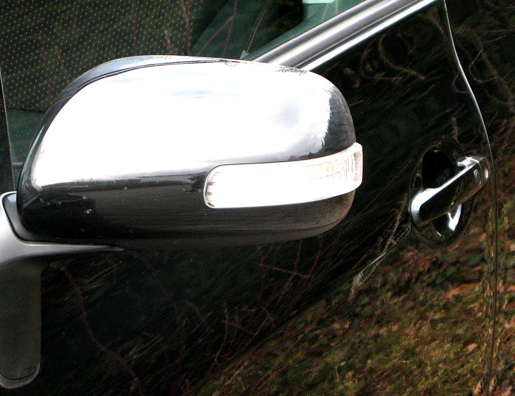 Toyota Auris: In die Außenspiegel sind Blinkblöcke installiert.