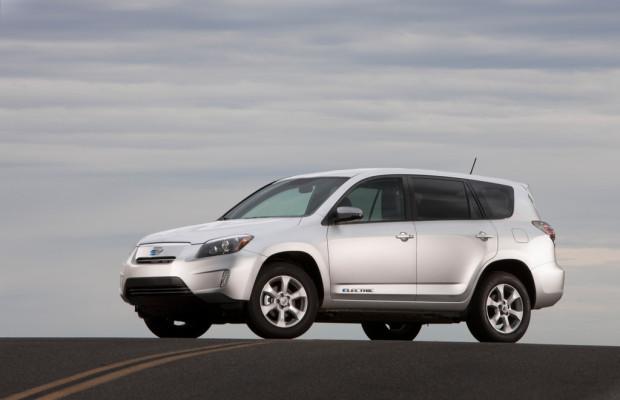 Toyota RAV4 EV kommt in Kalifornien auf den Markt