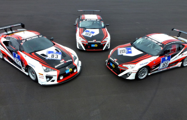Toyota schickt fünf Autos ins 24-Stunden-Rennen