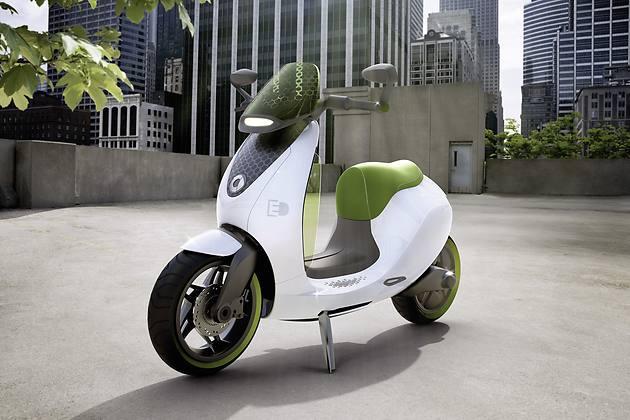 UNFERTIG: Smarter escooter ab 2014 in Serie erhältlich