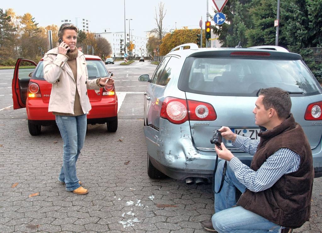 Ungeklärter Unfallhergang - Schadensteilung
